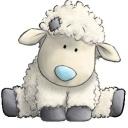 cute stuffed sheep