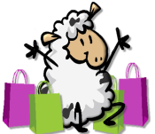 Shopping sheep