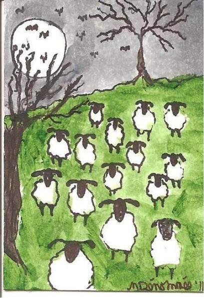 halloween-sheep