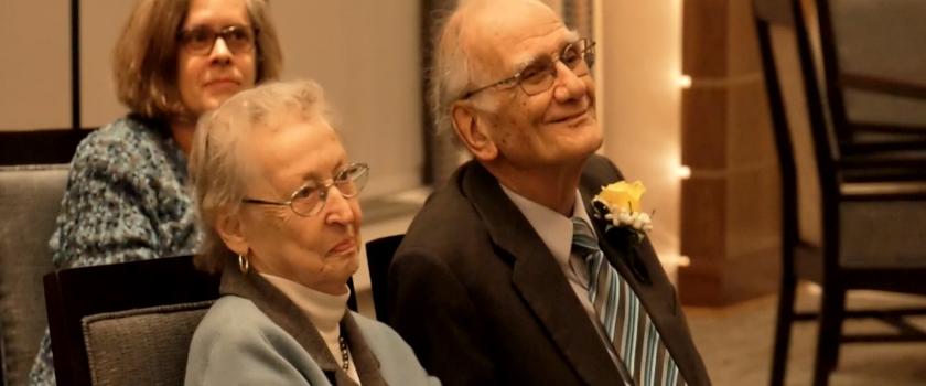 Bill Blake and Miriam Feb 2019
