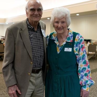Bill Blake and Betty Ann Dillon