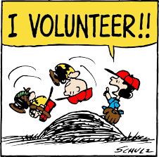 lucy volunteers