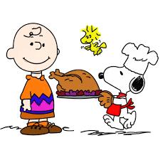 peanuts thanksgving